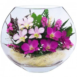 21_01 Цветы в стекле ~вакуум*~