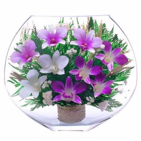 21_08 Цветы в стекле ~ вакуум*~