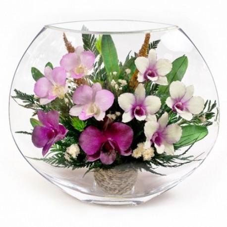 21_09 Цветы в стекле ~ вакуум*~