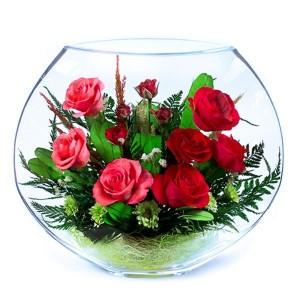 22_11 Цветы в стекле ~ вакуум*~