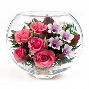 17_4 Цветы в стекле! ~ вакуум ~