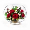 18_03 Цветы в стекле ~ вакуум*~