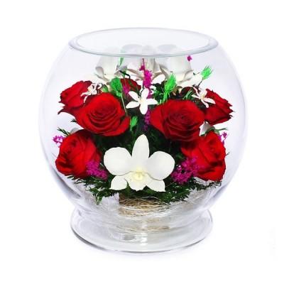 09_12 Цветы в стекле ~ вакуум*~