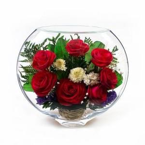 18_07 Цветы в стекле! ~ вакуум ~