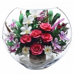 13_01 Цветы в стекле ~ вакуум*~