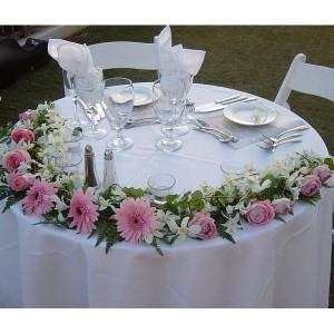 90_01 Свадебная композиция на стол