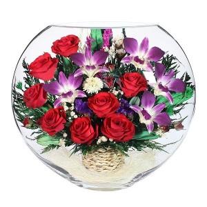 13_07 Цветы в стекле ~ вакуум*~