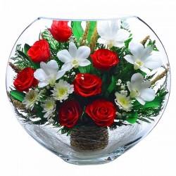 13_11 Цветы в стекле ~ вакуум*~