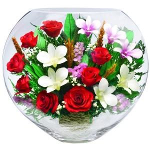 13_18 Цветы в стекле! ~ вакуум ~