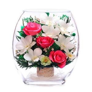 24_11 Цветы в стекле ~ вакуум*~
