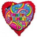 88_05 Шар сердце с днем рождения