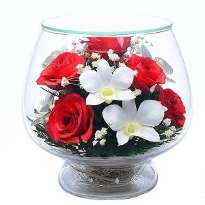 08_02 Цветы в стекле ~ вакуум*~