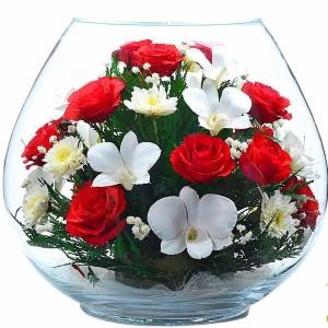 01_02 Цветы в стекле ~ вакуум*~
