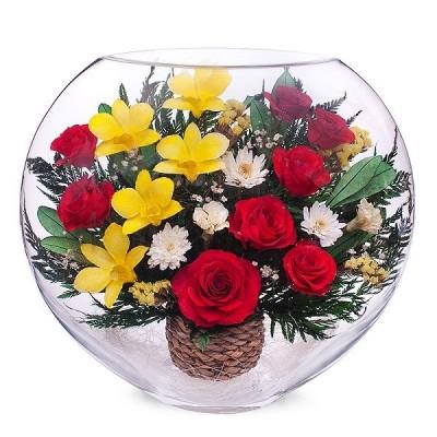 13_05 Цветы в стекле ~ вакуум*~