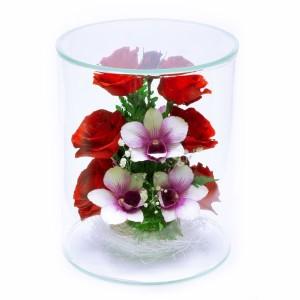 12_31 Цветы в стекле ~ вакуум*~