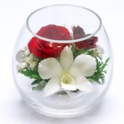 03_11 Цветы в стекле ~ вакуум*~