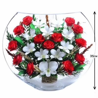 16_12 Цветы в стекле ~ вакуум*~