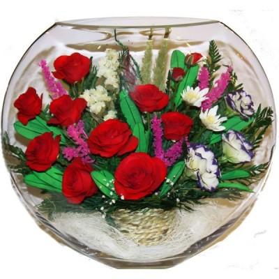 13_19 Цветы в стекле ~ вакуум*~