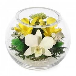03_21 Цветы в стекле ~ вакуум*~