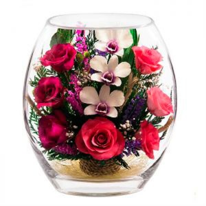 23_03 Цветы в стекле ~ вакуум*~