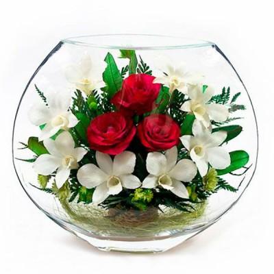 20_05 Цветы в стекле! ~ вакуум ~