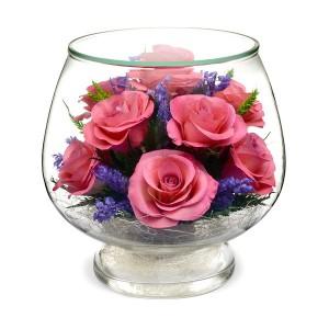 08_00 Цветы в стекле ~ вакуум*~