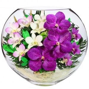 14_09 Цветы в стекле ~ вакуум*~