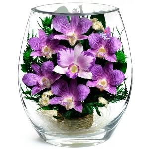 25_01 Цветы в стекле ~ вакуум*~
