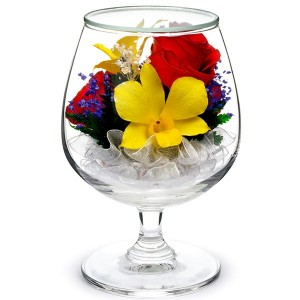 07_08 Цветы в стекле ~ вакуум*~