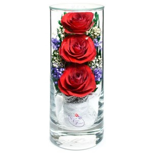 12_25 Цветы в стекле! ~ вакуум ~