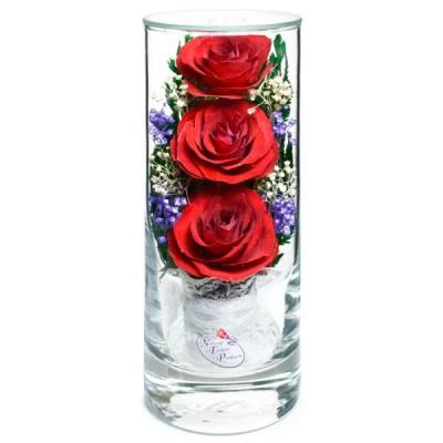12_18 Цветы в стекле! ~ вакуум ~