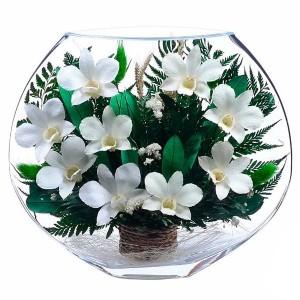 20_04 Цветы в стекле! ~ вакуум ~