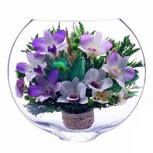 19_07 Цветы в стекле ~ вакуум*~