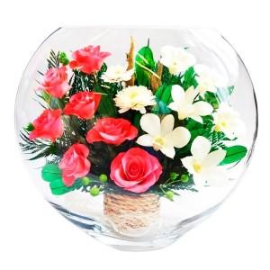 13_03 Цветы в стекле ~ вакуум*~