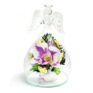 04_10 Цветы в стекле, Ангелочки