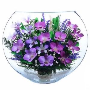 16_02 Цветы в стекле ~ вакуум*~
