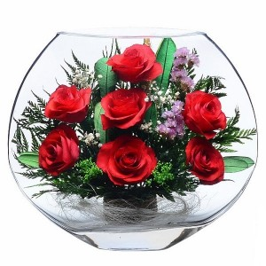 22_01 Цветы в стекле ~ вакуум*~