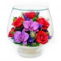 08_03 Цветы в стекле ~ вакуум*~