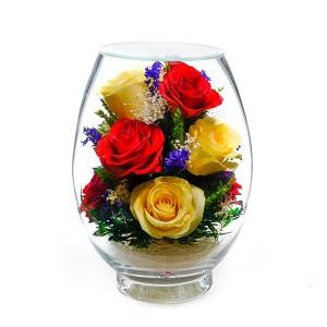 10_07 Цветы в стекле ~ вакуум*~