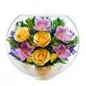 17_09 Цветы в стекле ~ вакуум*~