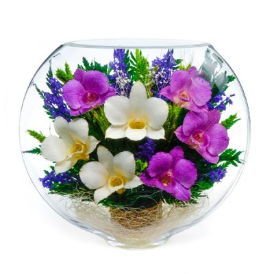 19_02 Цветы в стекле ~ вакуум*~