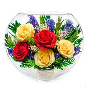 18_07 Цветы в стекле ~ вакуум*~