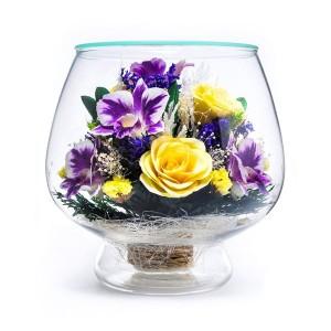 08_01 Цветы в стекле ~ вакуум*~