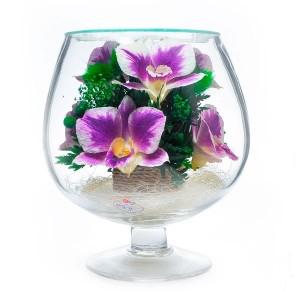 07_26 Цветы в стекле ~ вакуум*~