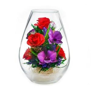 12_40 Цветы в стекле ~ вакуум*~