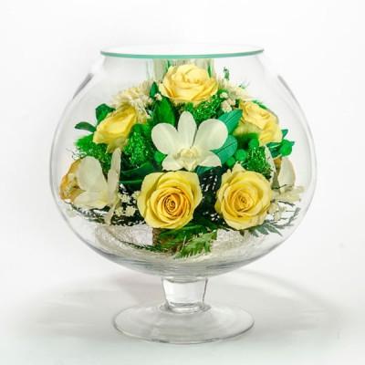 07_33 Цветы в стекле ~ вакуум*~
