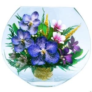 21_03 Цветы в стекле ~ вакуум*~