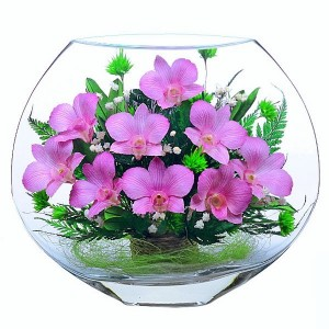 21_05 Цветы в стекле ~ вакуум*~