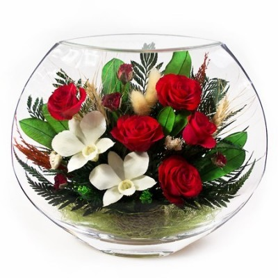 20_06 Цветы в стекле! ~ вакуум ~